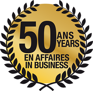 50 ANS EN AFFAIRES | 50 YEARS IN BUSINESS